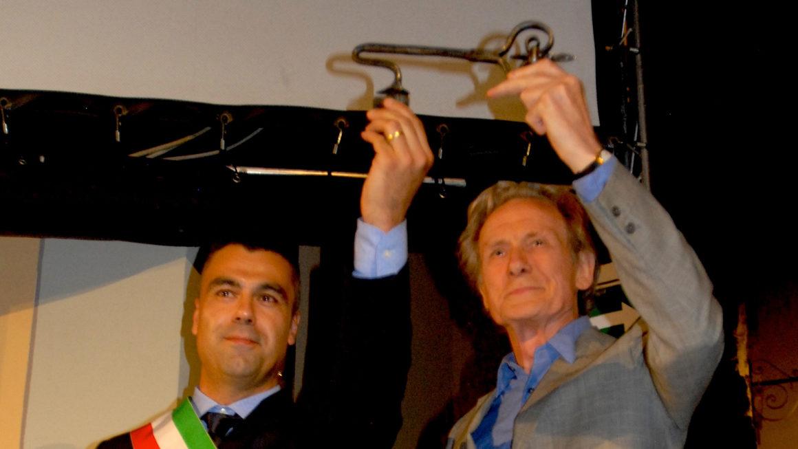 Consegna delle chiavi della città a Bill Nighy