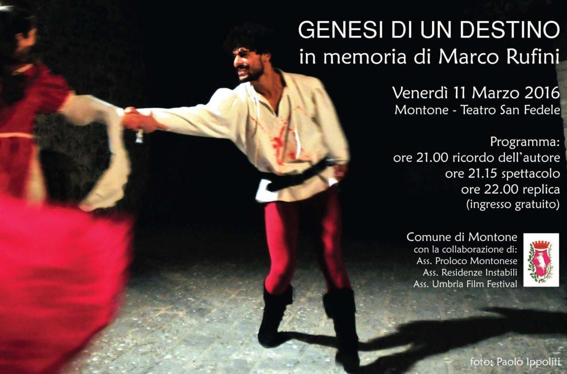Serata in memoria di Marco Rufini