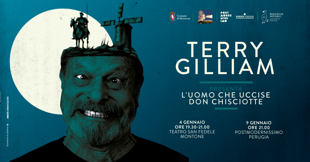 Terry Gilliam di nuovo a Montone