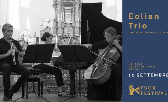 Fuori Festival: concerto Eolian Trio