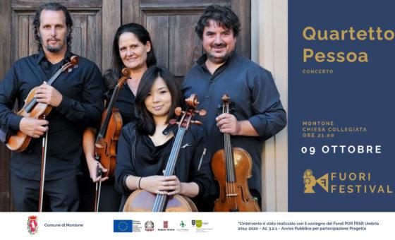 Fuori Festival: concerto Quartetto Pessoa